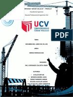 Informe Obras Hidraulicas 01