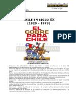 Chile en El Siglo XX (1920-1973)