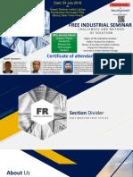 Free Industrial Seminar