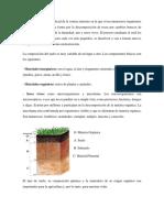 Tipología de Suelos Por Funcionalidad y Por Características Fisicas