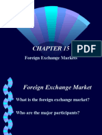 chap15 Foreign Exchange Markets