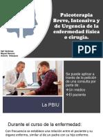 PBIU de Las Enfermedades Físicas o Cirugía
