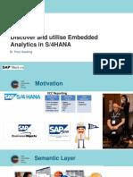 SAUG Embedded Analytics Melbourne 2017