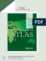 2.1. Resumen Mundial Health Atlas ONG, CREAP(2017), Español