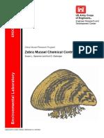 Zebra Mussel Chemical Control Guide