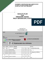 498 Quality Plan Pressure Vessel