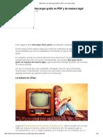 200 Libros Para Descargar Gratis en PDF y de Manera Legal