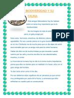 La Biodiversidad y Su Fauna2