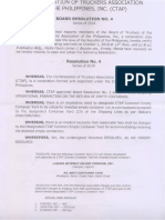 Confederation of Truckers Association of the Philippines resolution on empty container returns