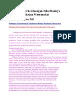 Hubungan Perkembangan Nilai Budaya Dengan Kesehatan Masyarakat.docx
