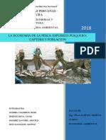 Economia de La Pesca Esfuerzo Captura y Poblacion