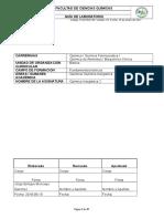 Guía de Prácticas Laboratorio Química Inorganica II