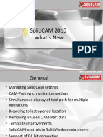 SolidCAM 2010 Whats New