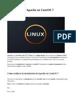 Cómo Instalar Apache en CentOS 7
