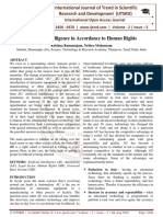 Artificial Intelligence in Accordance to Human Rights
