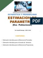 Estimación de Parametro Dos Poblaciones