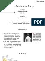Erb Duchenne Palsy presentation ppt
