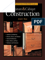 The Complete Illustrated Guide to Furniture - Cabinet Construction
