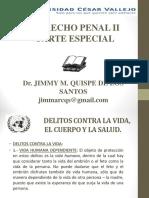 DERECHO PENAL II - 1° SEMANA - UCV
