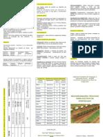 folder cultivo de hortaliças convencional