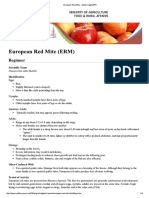 European Red Mite - Ontario AppleIPM