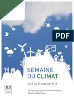 2018 Semaine Climat Affiche A4