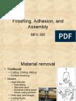 21 Finishing, Adhesion, Assembly