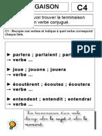 c4ac6-terminaison-verbe