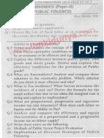 Past Papers 2017 Punjab University MA Economics Part 1 English Paper 2.pdf