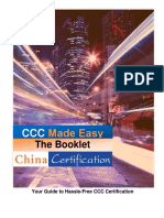 CCC Made Easy China Certification