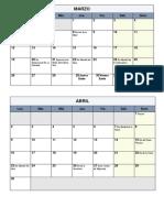 calendario 20182
