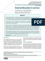 A Study of Reversal Reactions in Leprosy