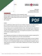 Barratxi Sin Pasos Peatones (25/2018)