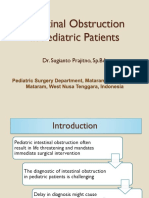 Intestinal Obstruction in Pediatric Patients