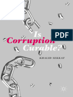 Is Corruption Curable?