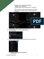 Interfaz Redimensionado de Las Herramientas Cabeceras