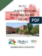 Ruta Plantas y Mitos del patio del IES Río Júcar