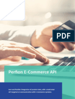 Perfion E-Commerce API targeted at  communication with E-Commerce systems