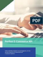 Perfion E-commerce API gericht op  communicatie met E-commerce-systemen