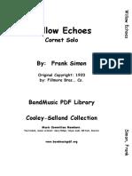 WILLOW ECHOES- -CORNET SOLO-FRANK SIMON.pdf