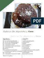 Es Spanish Snacks Treats Carob Coconut Cookies