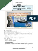 T9 APUNTES Políticas macroeconómicas_Política Fiscal