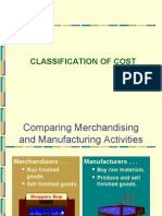 Classification of Cost