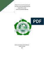 Laporan Evaluasi PTS SMK Darun Najah