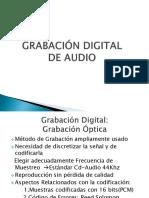 Grabación digital de audio