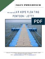 TS- Floating Jetty