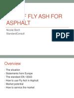 10 StandardConsult Use of FlyAsh for Asphalt