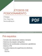 GNSS-Metodos de Posicionamento