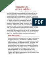 Intro to Measurement and Statistics(1)