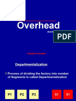 Overhead Distribution